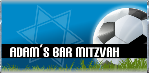 Custom and personalized Bar Mitzvah candy bar wrapper favors